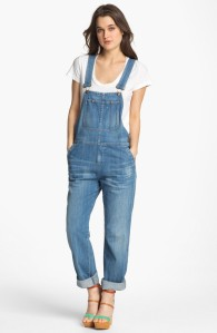 Citizens of Humanity: 'Quincy' Stretch Denim Overalls $297